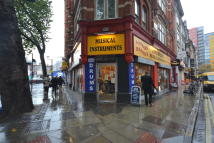Shop to rent in Charing Cross Road...