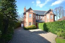 semi detached home in Heyes Lane, Alderley Edge