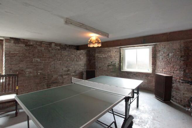 Games Room/Cellar
