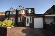 semi detached home for sale in Alexander Drive...