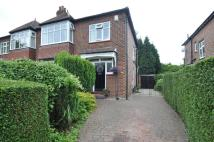 3 bed semi detached property for sale in Abingdon Road, Bramhall...