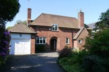 Detached property in Stanhope Road, Bowdon