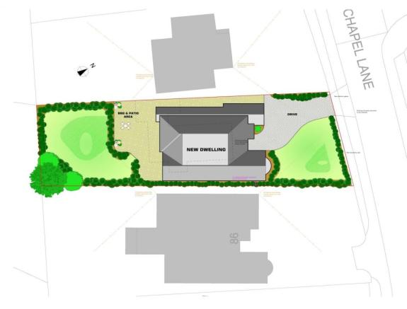 Site and layout