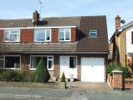 semi detached house for sale in Bollin Drive, Lymm