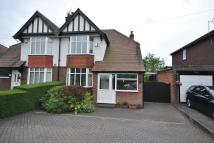 semi detached home in Chester Road, Poynton...