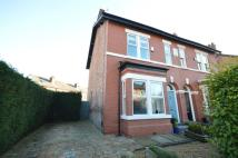 semi detached property in Whitefield Road...