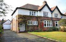 semi detached property in Hawthorn Lane, Wilmslow