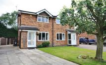 semi detached property for sale in Turnberry Drive, Wilmslow