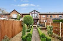 Terraced house for sale in Park Road, Wilmslow