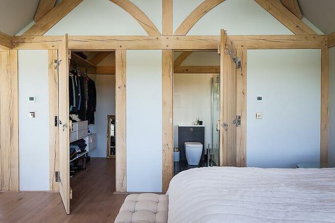 Master bedroom walk