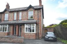 semi detached property in Hawthorn Street, Wilmslow