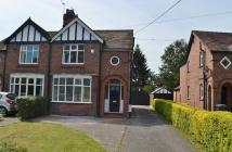3 bedroom semi detached house in Middlewich Road...