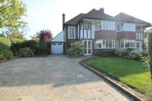 semi detached house in Chiltern Road...