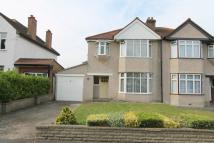 3 bed semi detached house in Warnham Court Road...