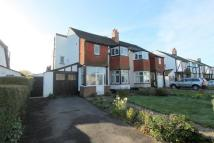 semi detached property for sale in Link Lane, Wallington...