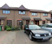 Terraced home in Clover Way, Hackbridge...