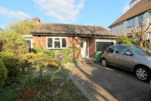 Detached Bungalow in Park Hill Road...