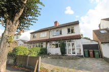 semi detached house in RUSKIN ROAD, Carshalton...