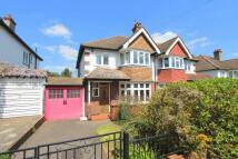 3 bedroom semi detached home in Northwood Road...
