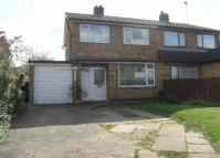 semi detached house in Langley Close, Huncote