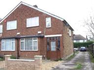 semi detached house in Malmesbury Road, London...