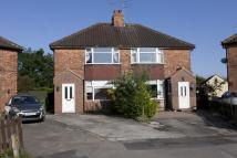 semi detached home to rent in EASON ROAD, DRINGHOUSES...