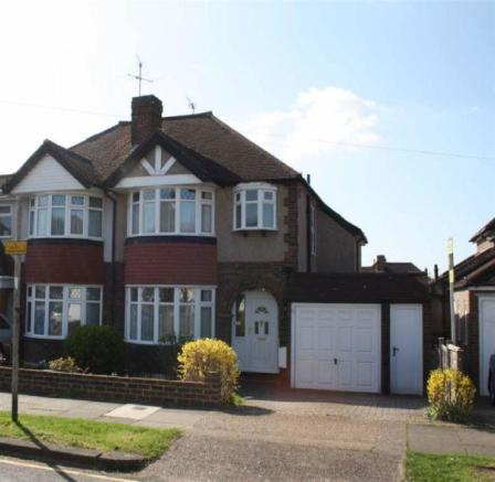 3 Bedroom Semi Detached House For Sale In Stoneleigh Kt19
