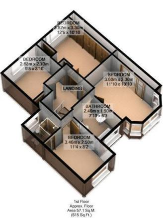 FLOOR PLAN 3D FIRST