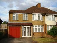 semi detached property in Worcester Park