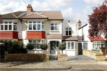 semi detached house in Clydesdale Gardens...
