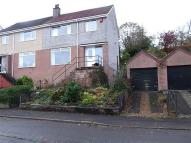 semi detached home in Pentland Drive, Barrhead...
