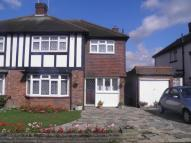 semi detached house to rent in Dickens Rise, Chigwell...