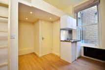 Studio apartment in Wardour Street, Soho, W1F