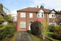 semi detached home in Ridgeway Road, Timperley...