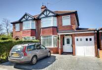 3 bedroom semi detached property for sale in Kingsley Road, Timperley...
