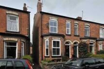 Terraced house in Bold Street, Altrincham...