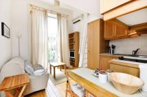 Studio flat in Westbourne Park Road...