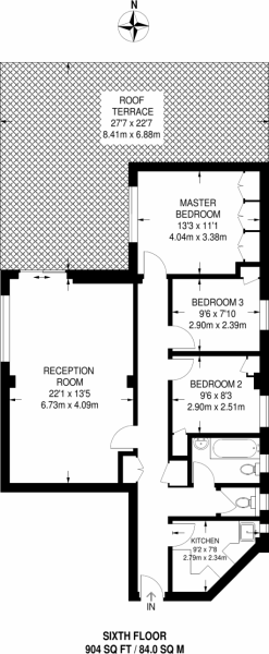 Floorplan area for info only, not for £sq/ft val