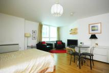 Studio apartment in St George Wharf...