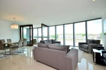 Flat to rent in One St George Wharf...