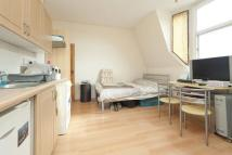 Studio flat in Station Parade...