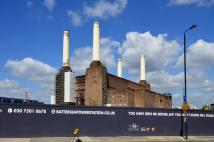 Studio apartment in Battersea Power Station...
