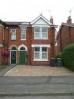 semi detached home in Robinson Road...