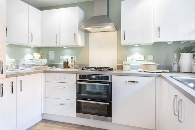 kitchen at Gillies Meadow