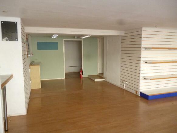 Main sales area