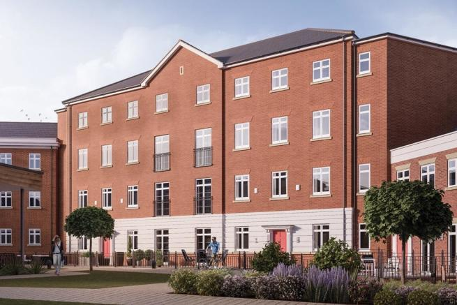 2 Bedroom Apartment For Sale In Garden Square East Dickens Heath Village Solihull B90 1ge B90