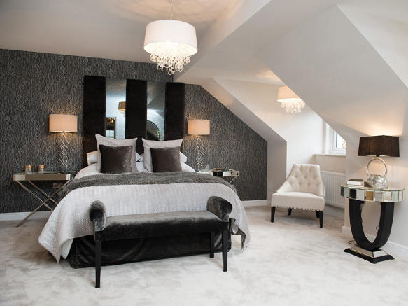 Stylish master bedroom