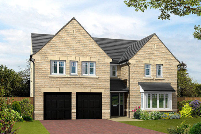 Moorbank Lea New Homes Development By Harron Homes
