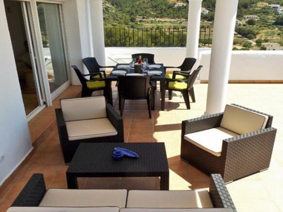 Top terrace (naya)