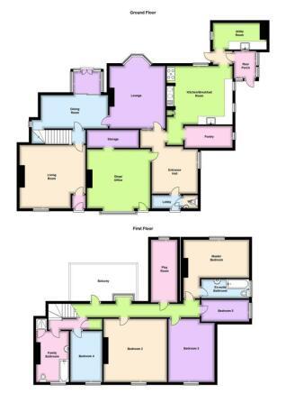 2D Floorplan High Street